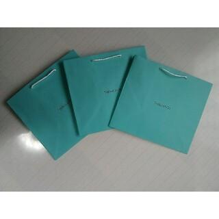 ティファニー(Tiffany & Co.)の♪ TIFFANY ( ティファニー ) ペーパーバッグ 3枚 X 1セット♪(ショップ袋)