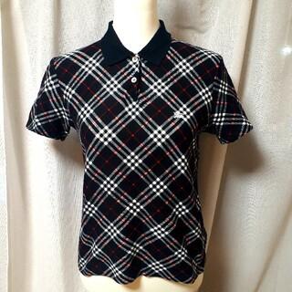 バーバリー(BURBERRY)のバーバリー BURBERRY ノバチェック 半袖 ポロシャツ Tシャツ ロゴ(ポロシャツ)