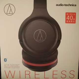 audio-technica - ワイヤレスヘッドフォン ATH-S200BT