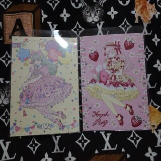 アンジェリックプリティー(Angelic Pretty)の今井キラ 非売品 ポストカード Littlebunny strawberry  (写真/ポストカード)