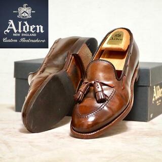 オールデン(Alden)のAlden 8D オールデン シガーコードバン タッセルローファー(ドレス/ビジネス)