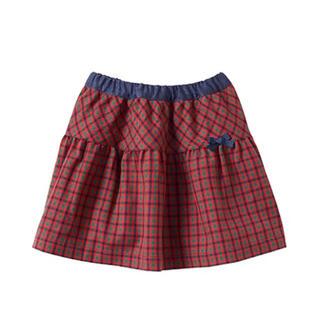 ファミリア(familiar)の美品*ファミリア リバーシブル スカート 110(スカート)
