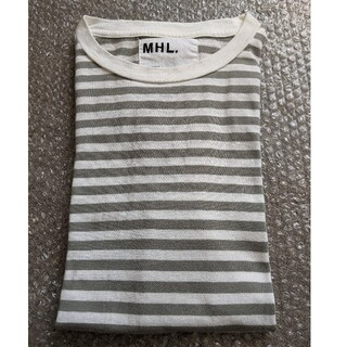 MARGARET HOWELL - MHL マーガレットハウエル ボーダー 半袖 Tシャツ メンズ