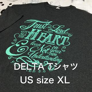 デルタ(DELTA)の【レア】US古着 XL ビッグサイズ DELTA Tシャツ(Tシャツ/カットソー(半袖/袖なし))