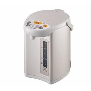 象印 - 象印 マイコン沸とう 電動ポット グレー CD-WY30-HA