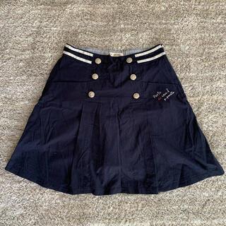 pom ponette - pom ponette 紺色 160相当スカート