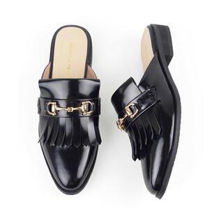 オリエンタルトラフィック(ORiental TRaffic)のオリエンタルトラフィック ビットモチーフスリッパ M(ローファー/革靴)