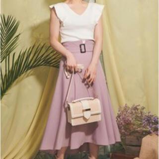 ノエラ(Noela)のノエラ ボリュームフレアスカート(ひざ丈スカート)