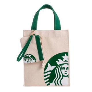 Starbucks Coffee - スタバ コインケース付き エコバッグ