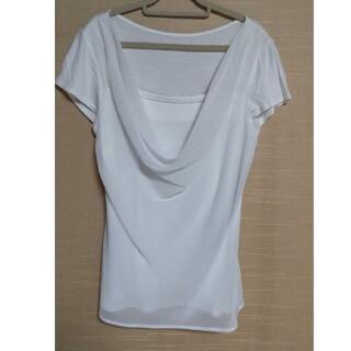 クードシャンス(COUP DE CHANCE)の白ブラウス(シャツ/ブラウス(半袖/袖なし))