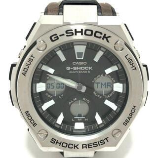 カシオ(CASIO)のカシオ 腕時計 - GST-W130L メンズ 黒(その他)