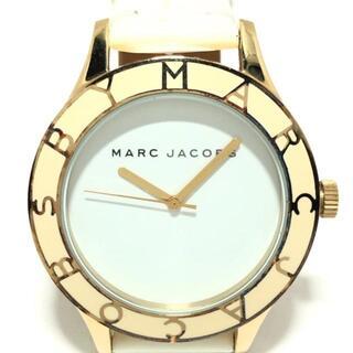MARC JACOBS - マークジェイコブス 腕時計 - MBM1100 白