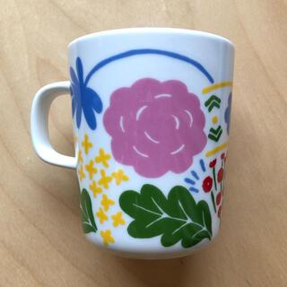 マリメッコ(marimekko)の廃番 新品 未使用 marimekko マリメッコ onni オンニ マグカップ(グラス/カップ)