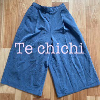 テチチ(Techichi)のテチチ ワイドパンツ ガウチョパンツ(カジュアルパンツ)
