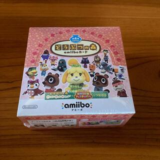 ニンテンドースイッチ(Nintendo Switch)のどうぶつの森amiiboカード 第4弾 (1BOX 50パック入り) シュリンク(Box/デッキ/パック)