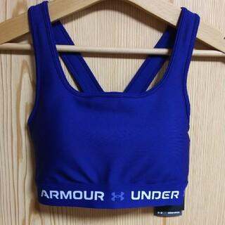 UNDER ARMOUR - 新品  タグ付き  アンダーアーマー  スポーツブラ  Lサイズ  ネイビー