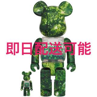 メディコムトイ(MEDICOM TOY)のMY FIRST BE@RBRICK FOREST GREEN Ver. (キャラクターグッズ)