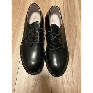 オールデン(Alden)の【新品未使用】ALDEN 56050 BLACK CORDOVAN 7.5D(ドレス/ビジネス)