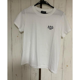 A.P.C - A.P.C Tシャツ 刺繍 ホワイト M