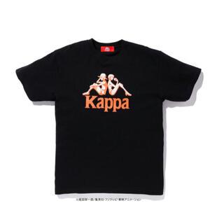カッパ(Kappa)の【未使用】kappaワンピース tシャツ ブラック(Tシャツ/カットソー(半袖/袖なし))