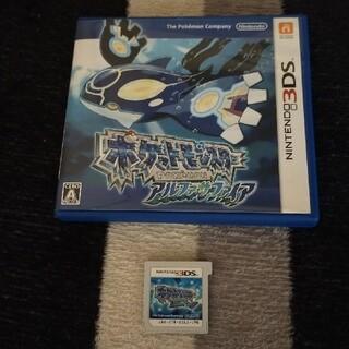 ニンテンドー3DS(ニンテンドー3DS)のポケットモンスター アルファサファイア 3DS(その他)