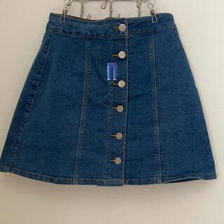 スタイルナンダ(STYLENANDA)のデニムスカート ボタン6個(ミニスカート)