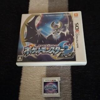 ニンテンドー3DS(ニンテンドー3DS)のポケットモンスター ムーン 3DS(その他)