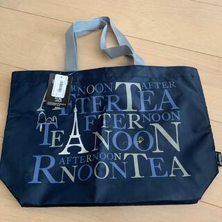 AfternoonTea - 新品 AfternoonTea × PEANUTSSNOOPY ロゴバッグ S