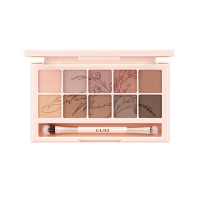 3ce(スリーシーイー)のClio  アイシャドウパレット 09 ボタニックモーブ   10色 箱付 コスメ/美容のベースメイク/化粧品(アイシャドウ)の商品写真