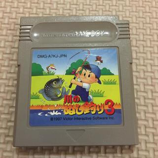 ゲームボーイ(ゲームボーイ)のG13 ゲームボーイソフト 川のぬし釣り3(家庭用ゲームソフト)