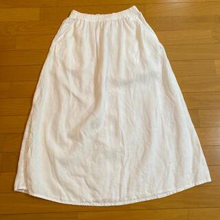 ムジルシリョウヒン(MUJI (無印良品))のMUJI(無印良品)リネンスカート(ロングスカート)