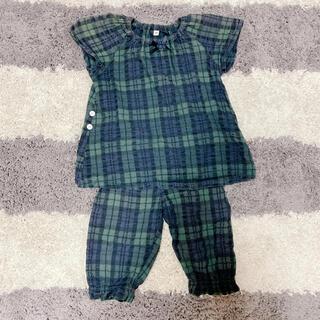 ムジルシリョウヒン(MUJI (無印良品))の無印良品 パジャマ 100(パジャマ)
