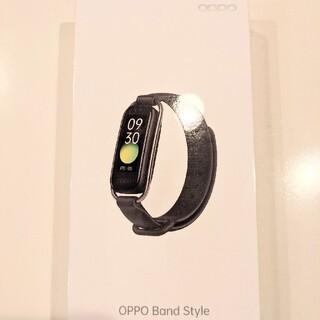 オッポ(OPPO)のOPPO Band style ブラック 新品未使用 未開封 スマートウォッチ (その他)