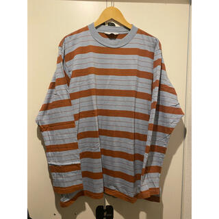アンユーズド(UNUSED)のUNUSED us1513 ロングスリーブボーダー サイズ2(Tシャツ/カットソー(七分/長袖))