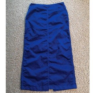 ドリスヴァンノッテン(DRIES VAN NOTEN)のdries van notten スカート blue(ロングスカート)