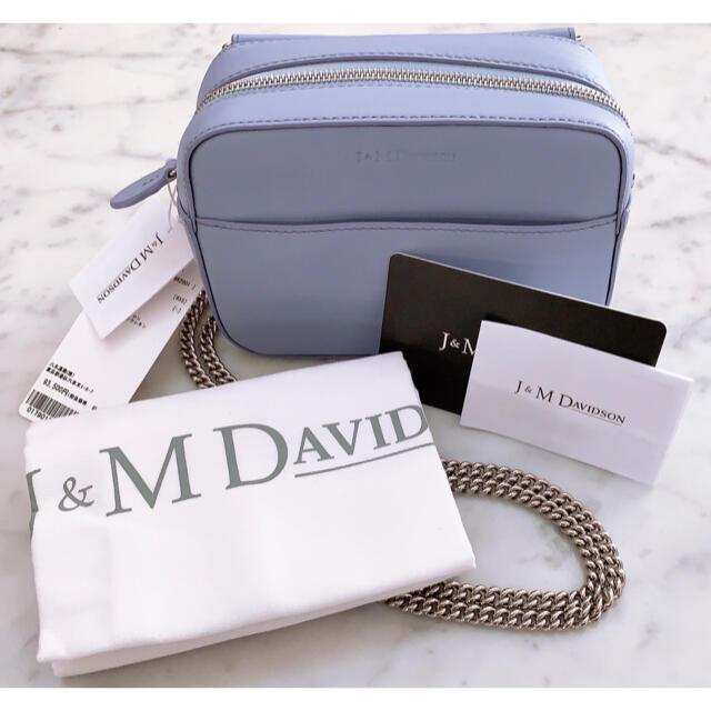 J&M DAVIDSON(ジェイアンドエムデヴィッドソン)の新品J&Mデヴィッドソン MINI PEBBLE ペブル レザーバッグ♪ レディースのバッグ(ショルダーバッグ)の商品写真