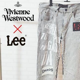 ヴィヴィアンウエストウッド(Vivienne Westwood)の激レア コラボ ヴィヴィアンウエストウッド  LEE  パンツ メンズ ボトムス(デニム/ジーンズ)