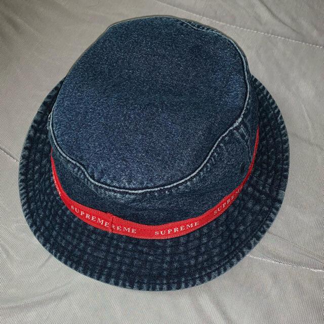Supreme(シュプリーム)のMONAさま専用 Jacquard Logo Taping Crusher メンズの帽子(ハット)の商品写真
