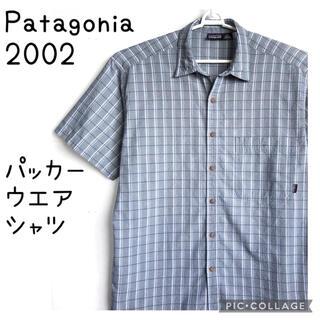パタゴニア(patagonia)のPatagonia パタゴニア シアサッカー パッカー ウエア チェック シャツ(シャツ)