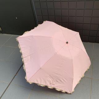 バーバリー(BURBERRY)のバーバリー ピンク折りたたみ傘(傘)
