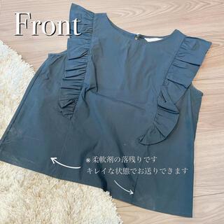 トランテアンソンドゥモード(31 Sons de mode)の美品 - ̗̀ ♡  ̖́- 肩フリルブラウス(シャツ/ブラウス(半袖/袖なし))