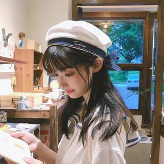 シルエットが綺麗で上品なデザインのベレー帽 夏(衣装一式)