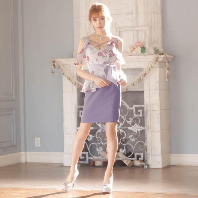 dazzy store(デイジーストア)の明日花キララ キャバドレス レディースのフォーマル/ドレス(ミニドレス)の商品写真