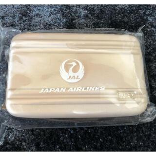 ジャル(ニホンコウクウ)(JAL(日本航空))のJAL× ゼロハリバートンビジネスクラスアメニティポーチ(旅行用品)
