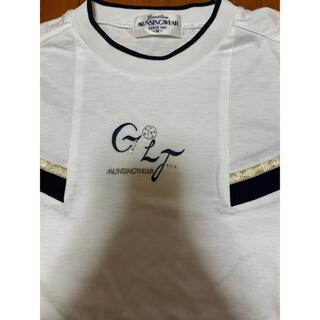 マンシングウェア(Munsingwear)のMUNSINGWEAR ラインストーンT-シャツ 美品(Tシャツ/カットソー(半袖/袖なし))