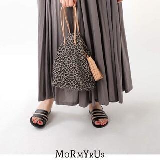 ビューティアンドユースユナイテッドアローズ(BEAUTY&YOUTH UNITED ARROWS)のMORMYRUS モルミルス レオパード パターン 巾着 バッグ  ポーチ(ショルダーバッグ)
