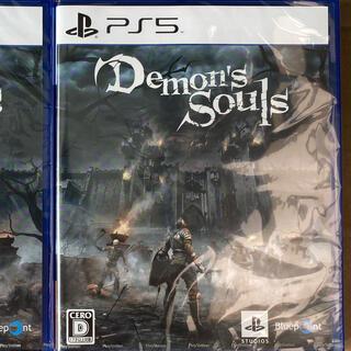 プレイステーション(PlayStation)のDemon's Souls PS5ソフト デモンズソウル(家庭用ゲームソフト)