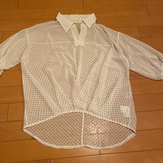 セシルマクビー(CECIL McBEE)のセシルマクビー 水玉ブラウス(シャツ/ブラウス(半袖/袖なし))