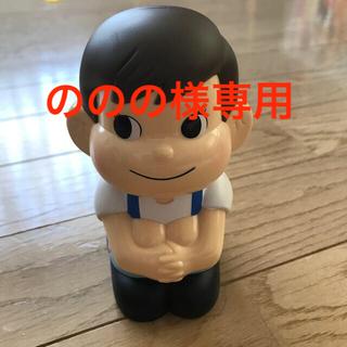 フジヤ(不二家)のポコちゃん貯金箱(ノベルティグッズ)