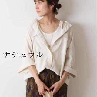 フレームワーク(FRAMeWORK)のフレームワーク 楊柳製品染めシャツ(シャツ/ブラウス(半袖/袖なし))
